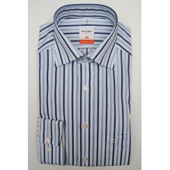 Easy Care Cotton Long Sleeved Stripe Shirt