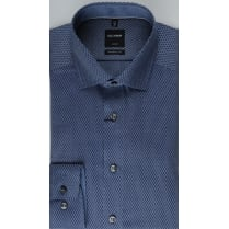Luxor Cotton Navy Pattern Shirt