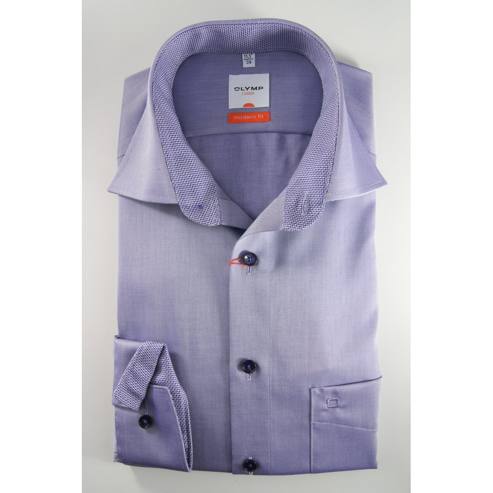 Olymp pure cotton non iron long sleeved twill shirt for What is a non iron shirt