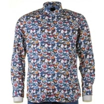 OLYMP Soft Cotton Long sleeved Shirt with Butterflies