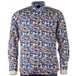 Soft Cotton Long sleeved Shirt with Butterflies