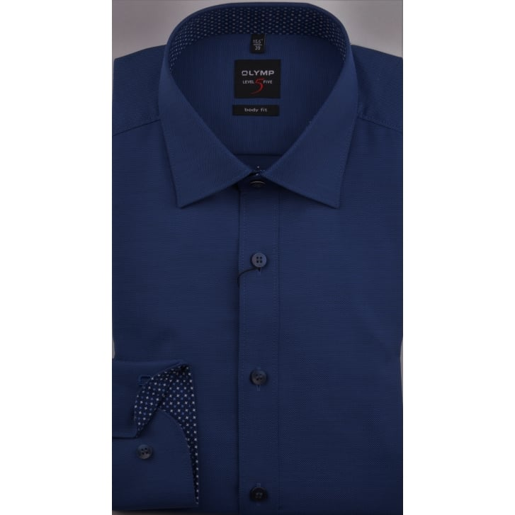 OLYMP Tailored Oxford Cotton Stretch Shirt