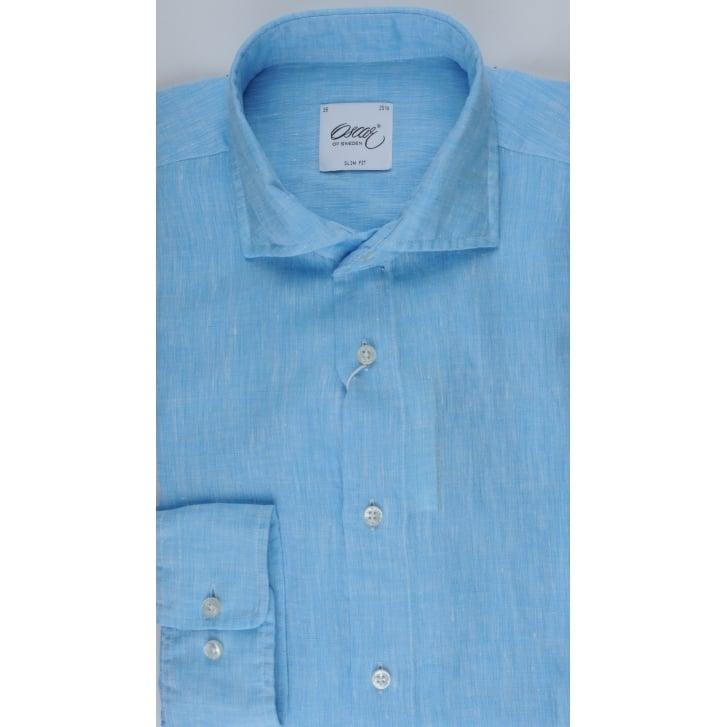 OSCAR Slim Fit Linen Shirt