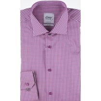 Two Fold Cotton Gingham Shirt