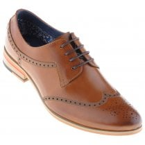 Fashion Tan Brogue with Tan Inlays