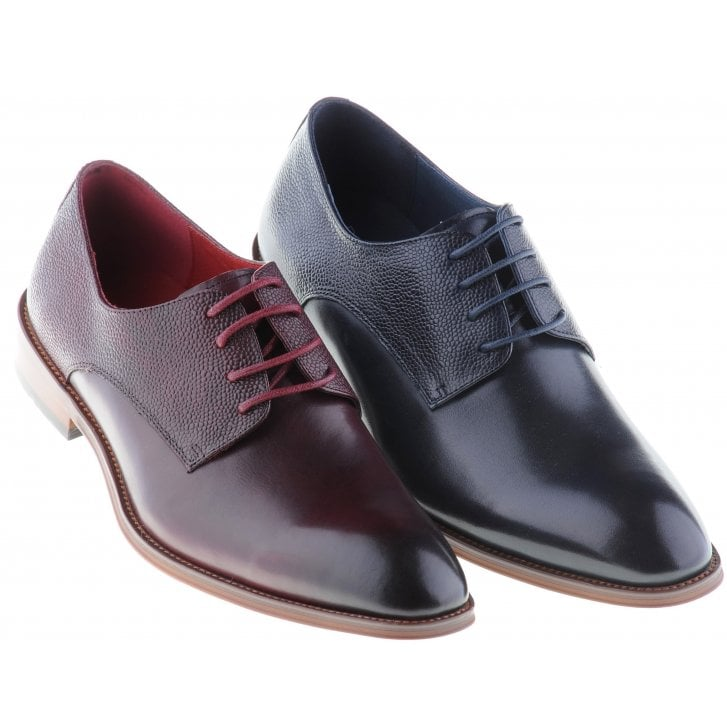 PAOLO VANDINI Stylish Lace up Shoe in Wine or Navy