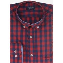 Check Casual Cotton Shirt