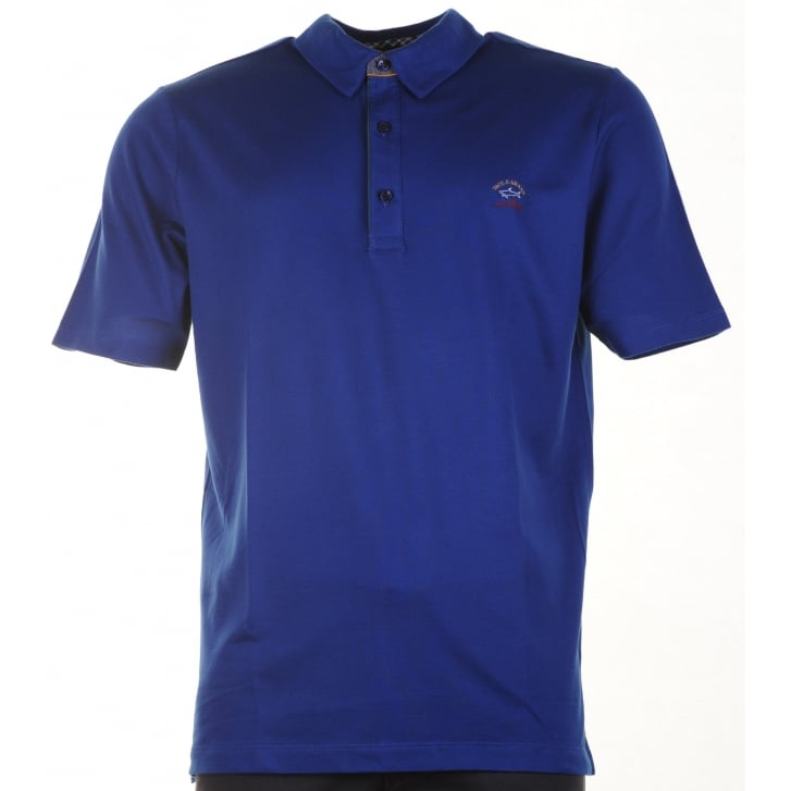 PAUL & SHARK Cotton Pique Polo Shirt with Logo