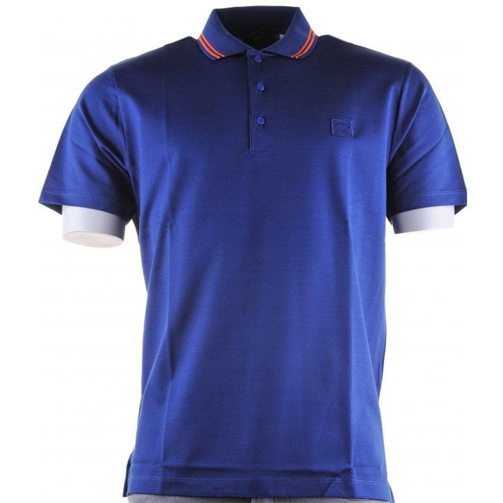 PAUL & SHARK Double Mercerized Cotton Pique Polo Shirt