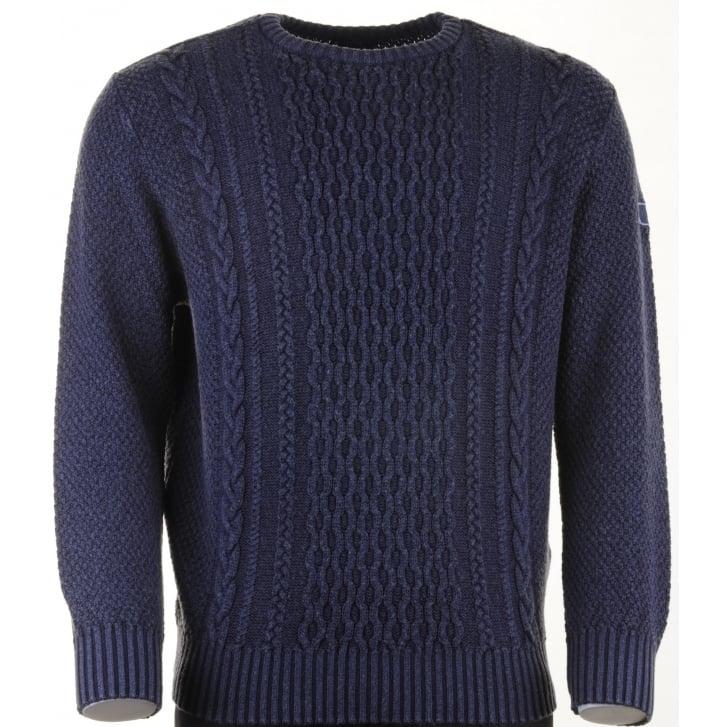 PAUL & SHARK Extra Fine Merino Wool Round Neck Jumper P1099