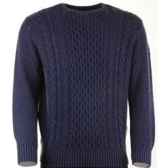 Extra Fine Merino Wool Round Neck Jumper P1099