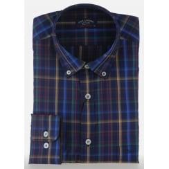 Luxury Cotton Multi Check Shirt