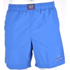 Mens Micro Fibre Elasticated Waist Swim Shorts