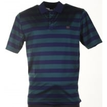 Quality Organic Cotton Pique Striped Polo Shirts