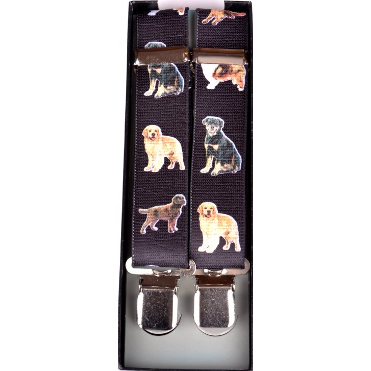 PL SELLS Adjustable Clip Braces with Dogs