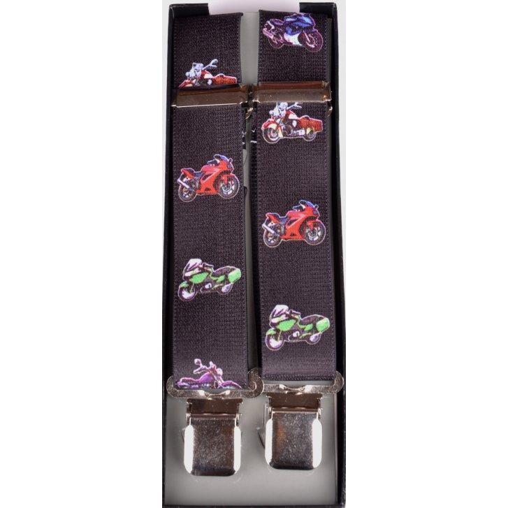 PL SELLS Adjustable Clip Braces with Motorbikes