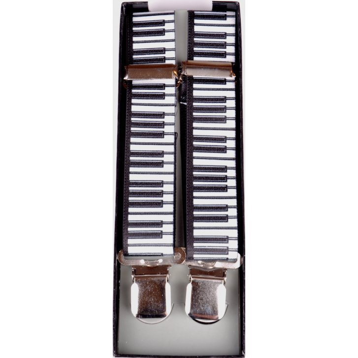 PL SELLS Adjustable Clip Braces with Piano Keys