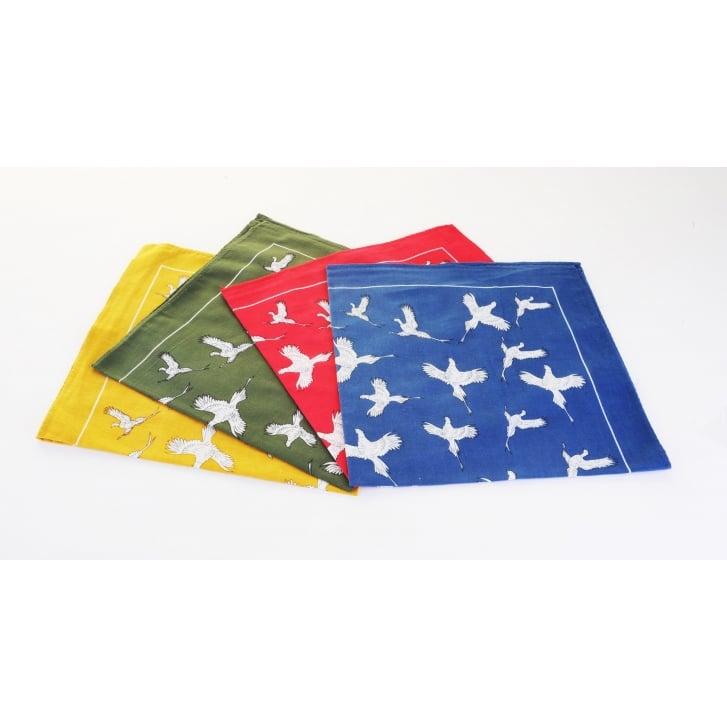 PL SELLS Cotton Handerchief with Pheasants
