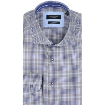 Prince of Wales Check Tailored Shirt