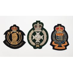 Regimental Woven and Wired Blazer Pocket Badges
