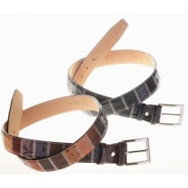 Assorted Skin Style Patchwork Belts