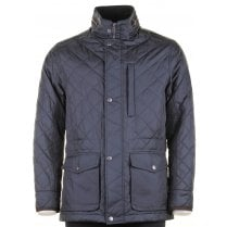 Water Repellent Light Weight Navy Coat