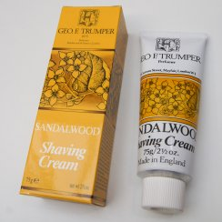 Sandlewood Shaving Cream in a Tube