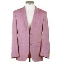 Pure Linen Summer Jacket in Gold or Raspberry