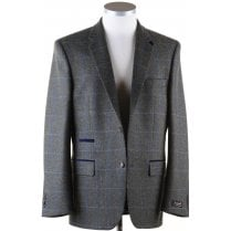 Pure Wool Green Tweed Jacket in a Shetland Style Cloth