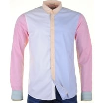 Fine Oxford Cotton Panelled Shirt