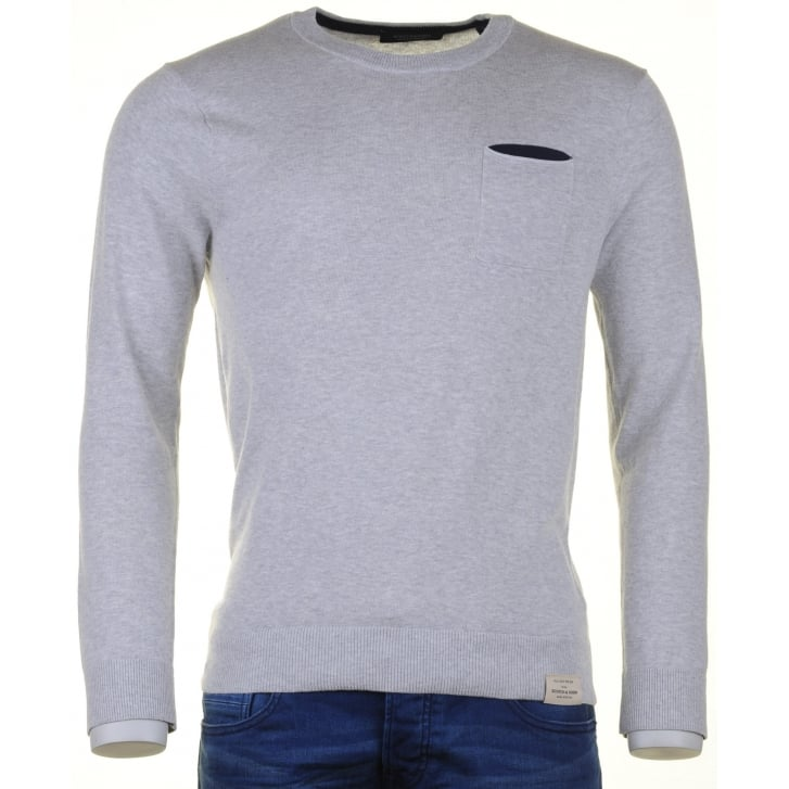 SCOTCH & SODA Super Soft Cotton Round Neck Sweater