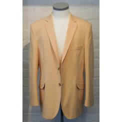 Stretch Cotton Fancy Lined Single Breasted Jacket