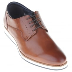 Tan Casual Shoe with Comfy Sole