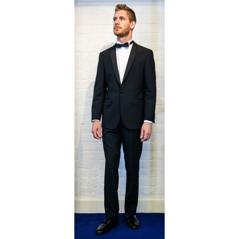 Torre a slim fit shawl lapel dinner jacket torre from for Dinner shirts slim fit