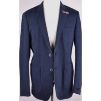 Unlined Knitted Casual Jacket