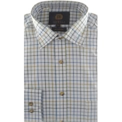 Brushed Cotton Tattersall Check Shirt