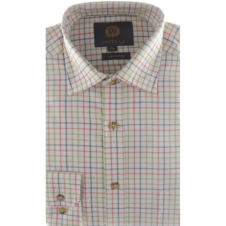 VIYELLA Classic Cotton Tattersall Check Shirt
