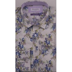 Floral Tailored Cotton Shirt