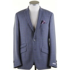 Light Weight Buggy Lined Tailored Check Jacket