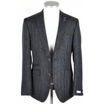Mens Dark Navy Flecked Tailored Jacket