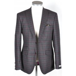 Mens Tailored Check Jacket in a Reda Cloth